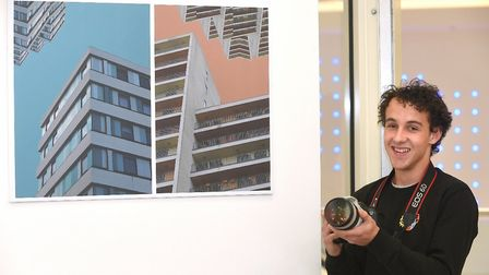 Student photographers at One sixth form have staged an exhibition at Sailmakers Shopping Centre in I