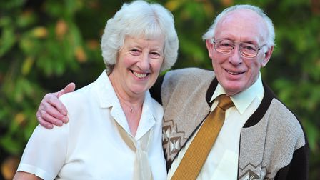 Henry and Heather Birt are celebrating their golden wedding anniversary. Picture: SARAH LUCY BROWN
