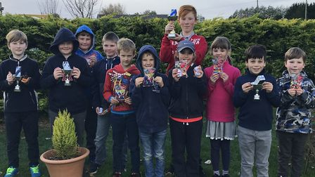 Youngsters at the Stonham Barns October Open. Photograph: CONTRIBUTED