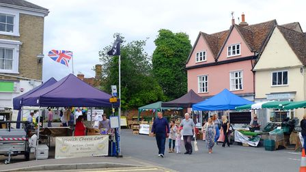 A market returned to Clare this year for the first time in 20 years. Picture: RICHARD MARSHAM