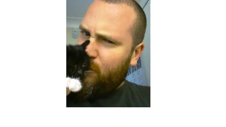 Elsa the kitten has been adopted by Colchester police officer, Adam Westall. Picture: ESSEX POLICE