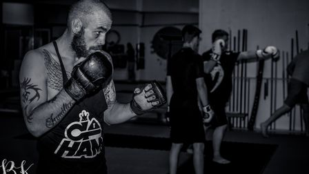 Scott Butters will make his pro debut at Contenders 21 in Norwich next week. Picture: BRETT KING