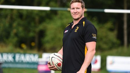 Bury St Edmunds rugby head coach Ollie Smith. Picture: GREGG BROWN