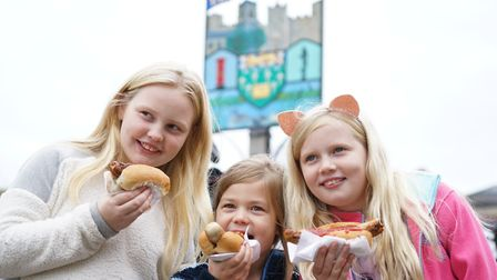 Framlingham Sausage Festival celebrates sausages made in East Anglia. Picture: Tony Pick Photography