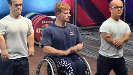 Nathaniel Wilding is a contender for the Suffolk Sports Personality of the Year award. Picture: CONT