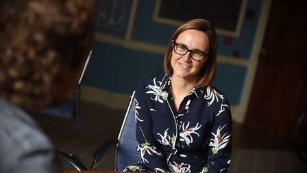 Interview with Oona Carlin, head of Ipswich High School, the former Ipswich High School for Girls wh