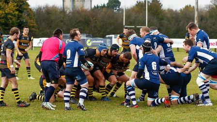 Action from Ipswich's victory over Chelmsford on Saturday. Photo: CONTRIBUTED