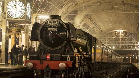 Flying Scotsman is visiting Ipswich and Norwich at the weekend. Picture: MIKE SPENCER