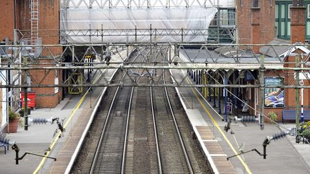 Witham train station. Picture: ANDREW PARTRIDGE