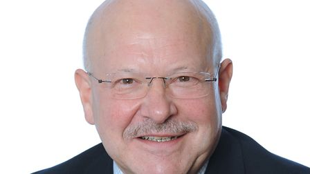 Alan Harris, who is become chairman of Ipswich Building Society. Picture: James Fletcher Photograph