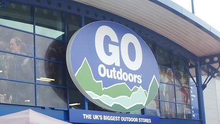 The new GO Outdoors store at Anglia Retail Park in Ipswich. Picture: MATT STOTT