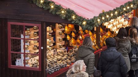 Visit the Christmas market in Leicester Square