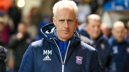 Town manager Mick McCarthy pictured at the Ipswich Town v Sheffield Wednesday match. Picture: STE