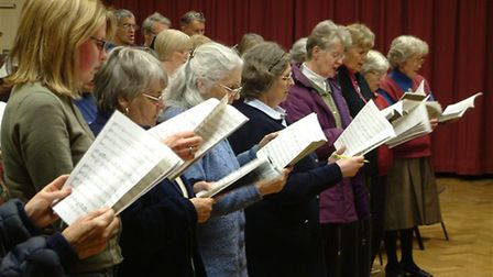 The Ipswich Bach Choir is at St Johns Church, Cauldwell Hall Road, Ipswich on Saturday. Picture: CO