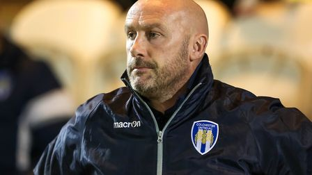 U's boss John McGreal pictured during Tuesday night's 1-0 win over Lincoln City. Picture: STEVE WA