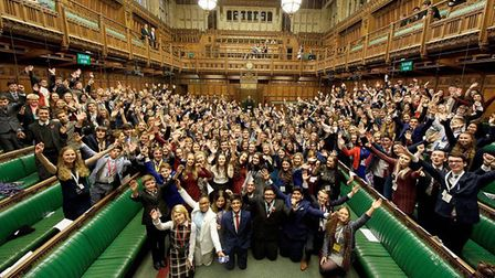 Nominations are open for Suffolk's Youth Parliament. Picture: CONTRIBUTED