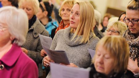 Last year's Archant Carol Service at St Mary le Tower, in Ipswich. Tickets are now on sale for this