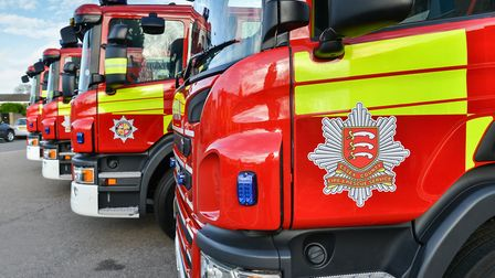 Essex County Fire and Rescue Service attended. Picture: DAVID STUBBS