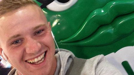 Corrie McKeague. Picture: FIND CORRIE FACEBOOK PAGE