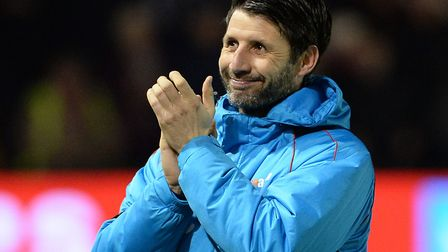 Danny Cowley's Lincoln knocked Ipswich out of the FA Cup last season