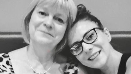 Councillor Miriam Lewis with her daughter Natalie Lewis-Hoyle. Picture: FACEBOOK