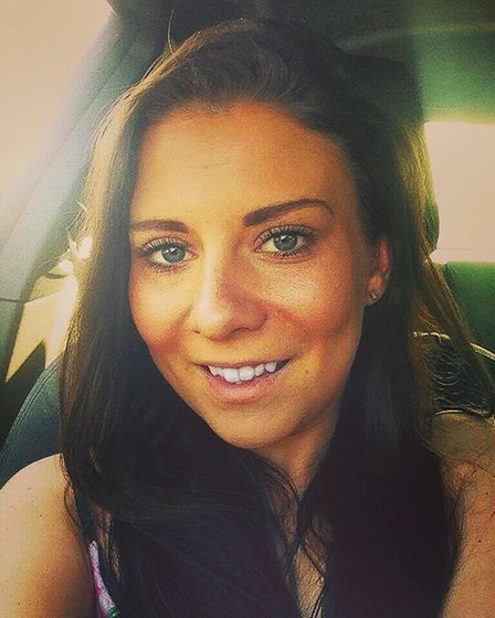 Natalie Lewis-Hoyle, the daughter of Essex councillor Miriam Lewis. PICTURE: TWITTER