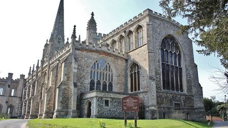 St Mary The Virgin Church in Saffron Walden, Uttlesford, which is the East of England's best place t