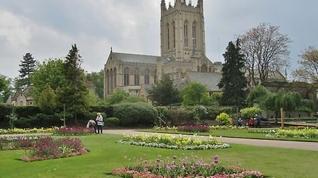 Abbey Gardens in Bury St Edmunds. St Edmundsbury was placed 22nd on the list. Picture: PETER BASH