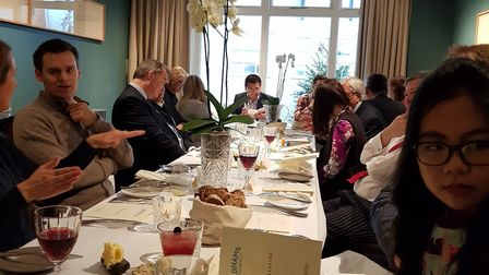 Adnams hosted a Linkseast-organised event at the newly refurbished Swan in Southwold where Universit
