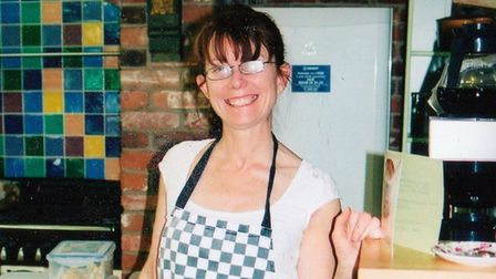 Sarah Pitkin pictured by friend and local archivist Steve Williams sometime between 2009 and 2011 wh