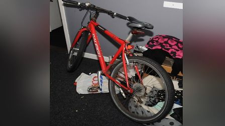 Police are hoping to track down a red Rayleigh Fire-fly bicycle. PICTURE: Essex Police