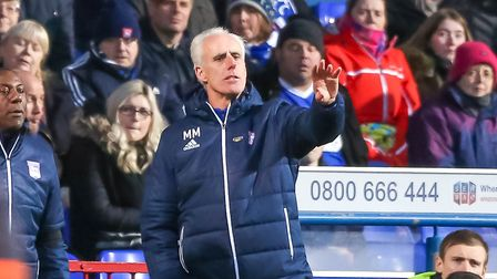 Mick McCarthy has now been in charge of Ipswich Town for five years. Picture: STEVE WALLER