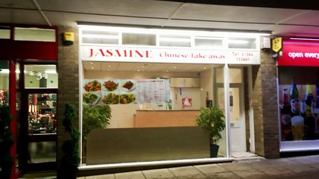 The Jasmine Chinese takeaway in Bury St Edmunds was awarded a zero hygiene rating after the visit fr