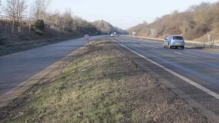 The accident happened near to the junction with the A140 (stock image). Picture: ARCHANT LIBRARY