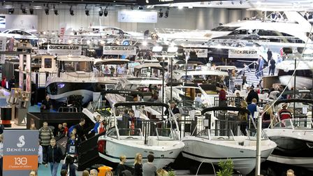 London Boat Show. Photo: onEdition