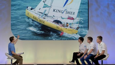 Dame Ellen MacArthur's adventures were featured at this year's January event. Picture: onEdition