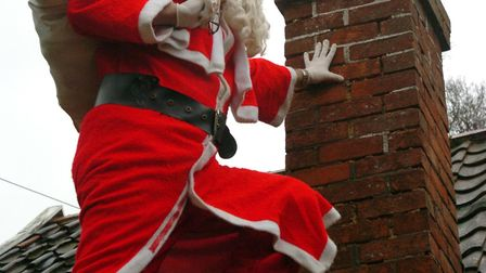 People are advised to boost security and ensure Santa Claus is the only person sneaking into their h