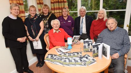 98-year-old Harry Buckledee completes his second novel which is about his life. Picture: GREGG BROWN