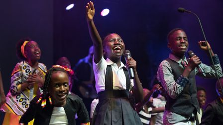 The choir's members are all orphans or vulnerable children from Africa. Picture: WATOTO