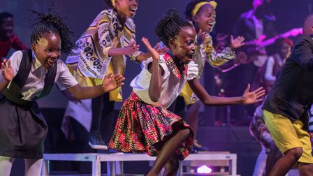 The Watoto Children's Choir is touring Suffolk with its Signs and Wonders production. Picture: WATOT