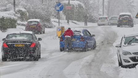 Travel chaos hit Suffolk and Essex yesterday. Picture: John Parish