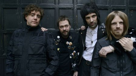 Kasabian are playing Thetford Forest. Picture: PHIL KNOTT