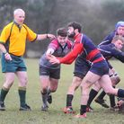 Jo Fifield scored a pair of tries for Stow in their dramatic win at West Norfolk. Picture: CONTRIBUT