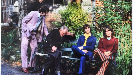 Nowhere Man - the sleeping man pictured with The Beatles has never been traced. Picture: TOM MURRAY