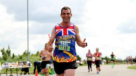Paul has raised more than £15,000 for Farleigh Hospice over the years. Picture: SIMON OSWALD