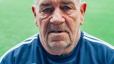 Dick Parker was beloved by all at Town. Picture: ITFC