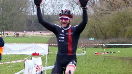 Stephen James (Renvale RT) from Wetheringsett, wins at Welwyn. Picture: FERGUS MUIR