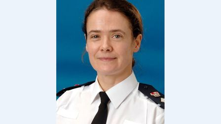 Rachel Kearton, who has been appointed as Suffolk Constabulary's new assistant chief constable. Pict