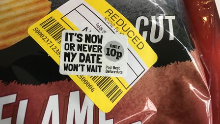 One of the 10p items on sale in the East of England Co-op's new scheme reduce food waste. Photo: Ar