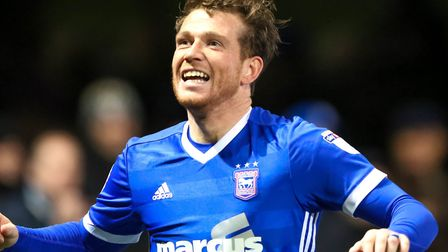 Joe Garner returns to the Ipswich Town squad for the clash with Middlesbrough. Photo: Steve Waller